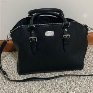Black Michael Kors hand bag, moderately sized
